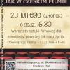 Jak w czeskim filmie – warsztaty sztuki filmowej dla młodzieży powyżej 14 roku życia