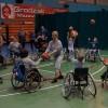 Mecz koszykówki na wózkach inwalidzkich
