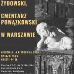 Wycieczka na Powązki i Cmentarz Żydowski